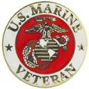 USMC Veteran Pin