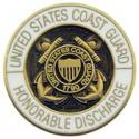 Coast Guard Honorable Discharge Pin