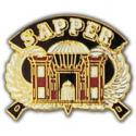 Army Sapper Engineer Pin