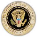 Presidential Seal Pin