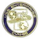 Navy USS Enterprise Pin