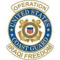 Operation Iraqi Freedom Coast Guard Pin