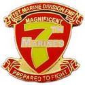 7th Marines Regiment Pin