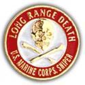USMC Sniper Pin