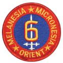 6th Marine Division Micronesia Patch