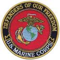 Defenders Of Our Freedom US Marine Corps Patch