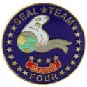 Navy SEAL Team 4 Pin