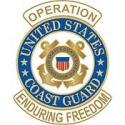 Operations Enduring Freedom Coast Guard Pin