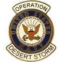 Navy Operation Desert Storm Pin