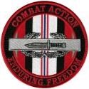 Army Combat Action Enduring Freedom Patch