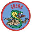 Army Cobra Helicopter Patch