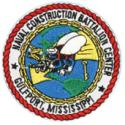 Naval Construction Battalion Center Gulfport Mississippi Patch