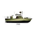 Patrol Boat River PBR (Color) Decal