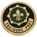 Army 2nd Cavalry Regiment Toujours Pret Lapel Pin