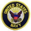Navy Logo Patch
