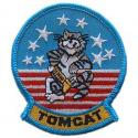 Navy Tomcat  Stars and Stripes Patch