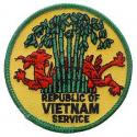 Vietnam Service Patch