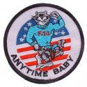 Navy Tomcat/Anytime Patch