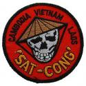 "Vietnam ""Sat-Cong"" Patch"