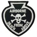 Army Airborne Death from Above Black Spade Patch