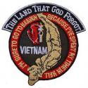Vietnam The Land That God Forgot Patch