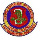 2nd Battalion 4th Marines Patch