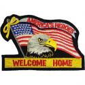 Welcome Home Flag Patch