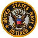 Navy Retired Logo Patch