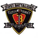 1st Battalion 1st Marines Patch