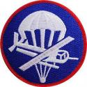 Army Para Glider Patch Officer
