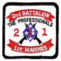 USMC Battalion 1st Marines Patch