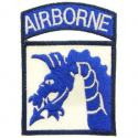 18th ABN CORPS Patch