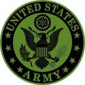 Army Logo Patch  Tan