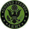 Army Logo Patch  Tan