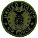Air Force Logo Patch OD