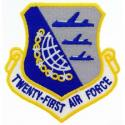 21st Air Force Patch