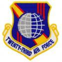 23rd Air Force Patch