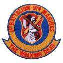 USMC Walking Dead (1st Battalion) Patch