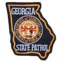 Georgia State Patrol Patch