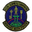 Air Force 6570th Services Squadron Patch