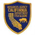 California Fish & Game Patch