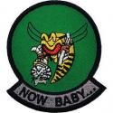 Navy Tomcat F-14 Now Baby Patch
