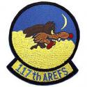 Air Force Kansas Coyotes 117th AREFS Patch
