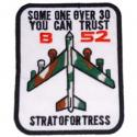 Air Force B-52 Patch
