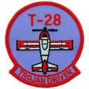 Air Force T-28 Trojan Driver Patch