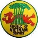 Vietnam Service Jacket Patch