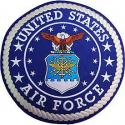 Air Force Logo Jacket Patch