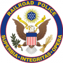 Railroad Police Decal