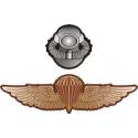 USMC Recon Combo Jump Wings/Scuba Decal