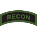 RECON Tab (Green/Black) Decal